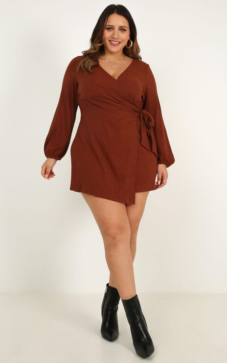 Cruel Intentions Playsuit In Toffee