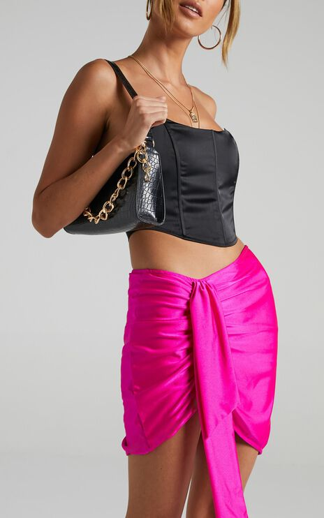 Lioness - Diamonds In The Sky Skirt in Pink
