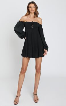 Gypsy Soul Dress in Black