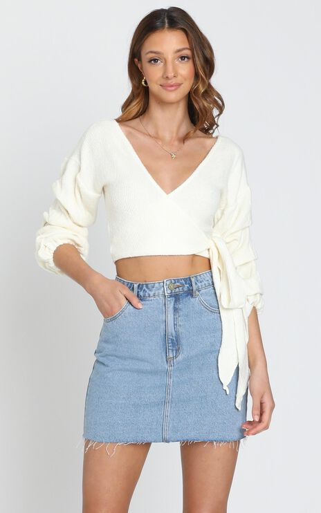 Good Decisions Knit Top in White
