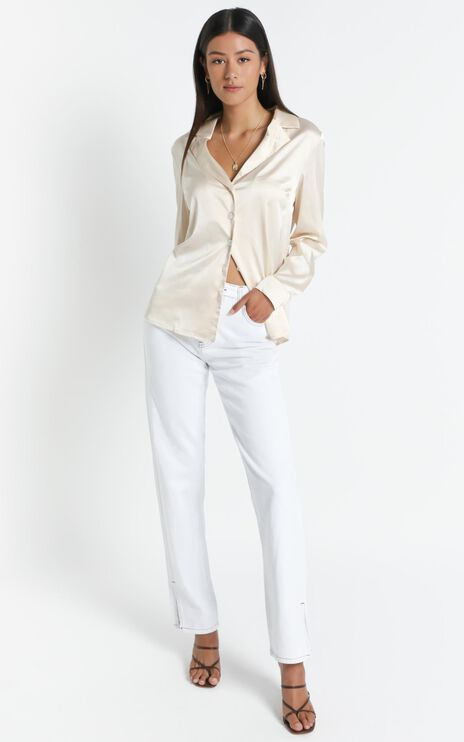 Lioness - Cheyenne Shirt in Ivory