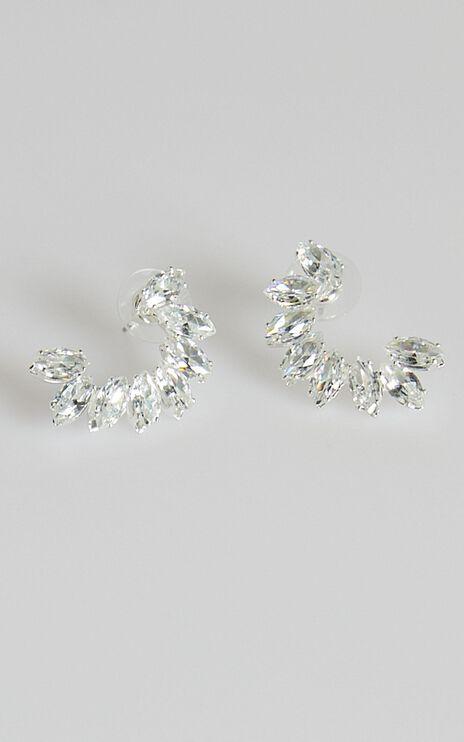 Best Part Earrings in Silver