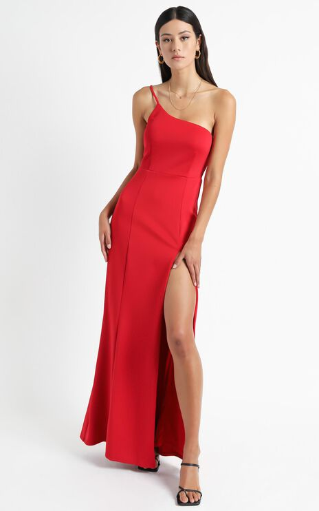 No Ones Fault Dress in Red