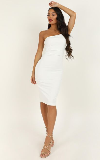Got Me Looking Dress In white - 20 (XXXXL), White, hi-res image number null