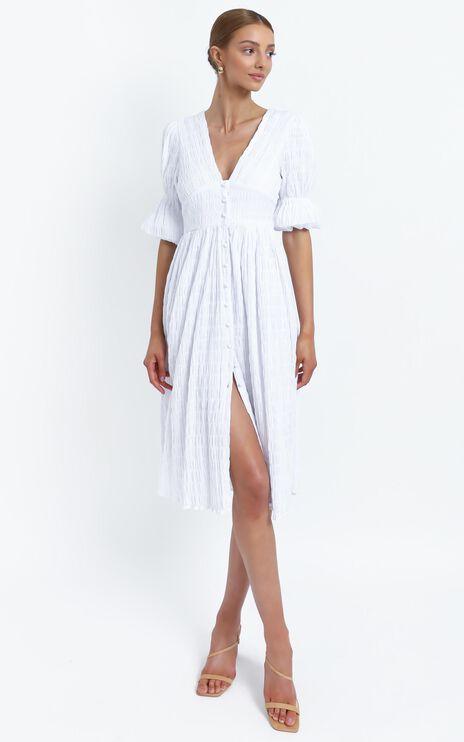 Seychelles Dress in White