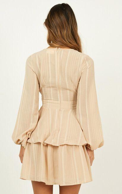 breaks like a heart dress in beige - 20 (XXXXL), Beige, hi-res image number null