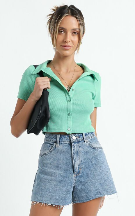 Leziria Top in Green