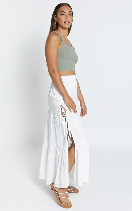 Annalisa Skirt in White
