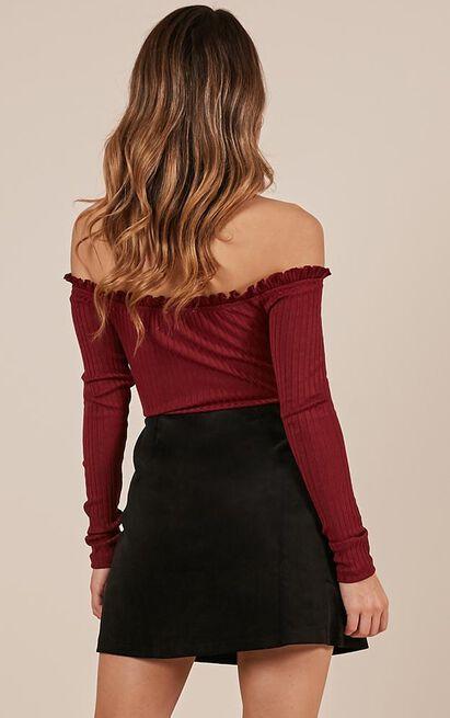 Open Season Skirt in black - 20 (XXXXL), Black, hi-res image number null