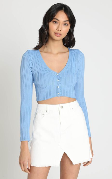 Lauretta Top in Blue