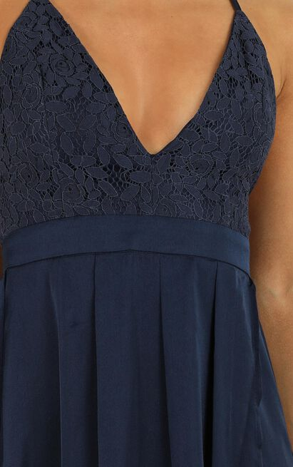 Inspired Tribe Maxi Dress in navy - 4 (XXS), Navy, hi-res image number null