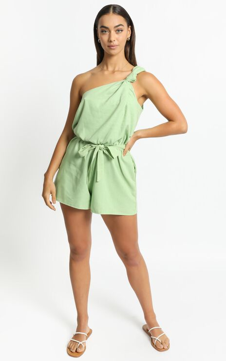 Armelle Playsuit in Green