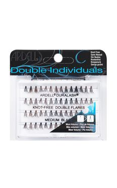Ardell - Double Individual Knot Free Medium Lashes in Black