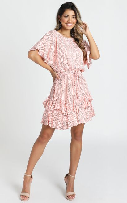 Sweet Story Dress in red - 12 (L), Red, hi-res image number null