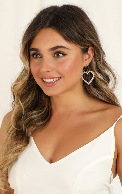 Southern Sky Earrings In Gold And Pearl, , hi-res image number null