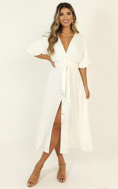 Corina Maxi Dress In White