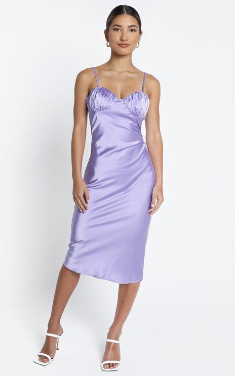 Lisbon Dress in Lilac