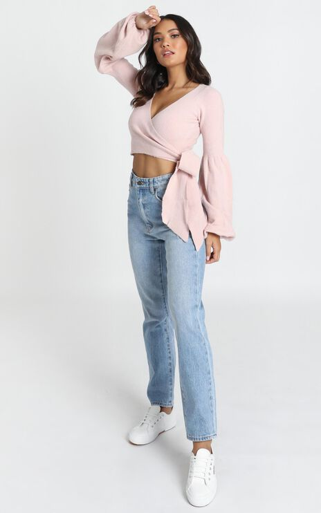 Across Oceans Top in Blush