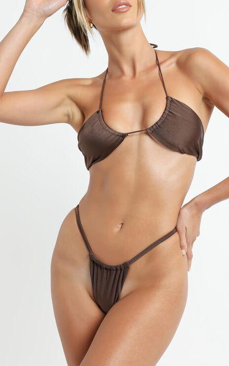 Lioness - The Kaesha Bikini in Brown