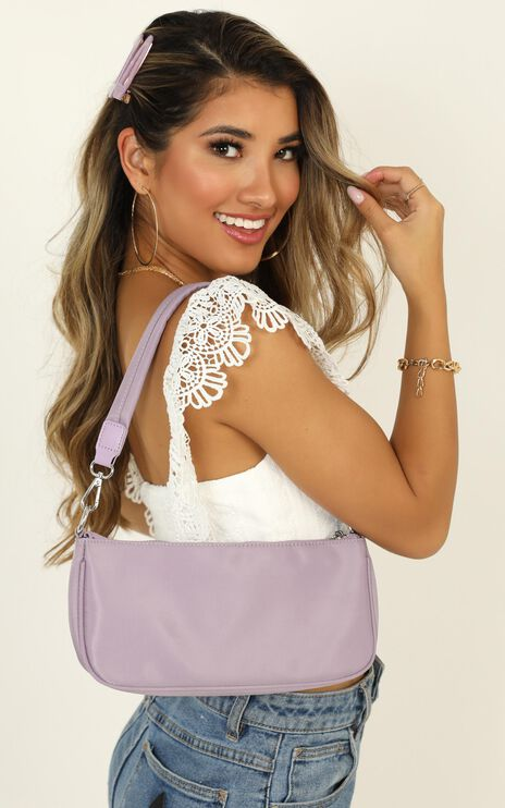 Make It All Count Bag In  Lilac