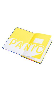 YES Studio: A5 Notebook - Don't Panic