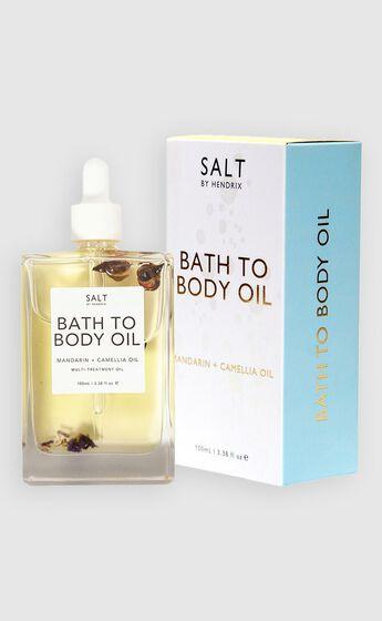 Salt By Hendrix - Bath To Body Oil in Gold