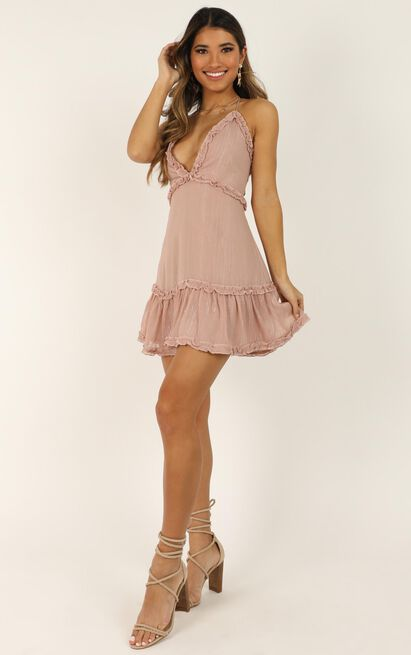 Out Of The Stars Dress In dusty rose - 20 (XXXXL), Pink, hi-res image number null