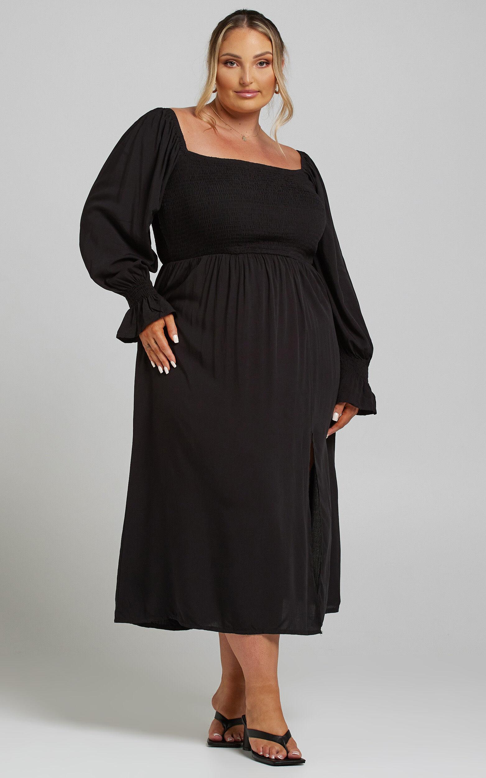 Pallas Dress in Black - 04, BLK1, super-hi-res image number null