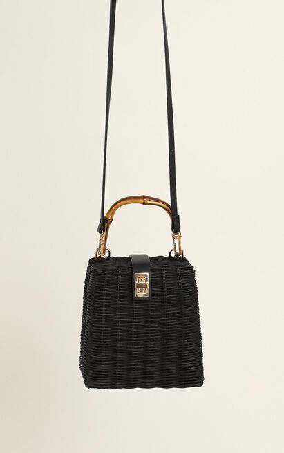 Sunset Lover Bag In Black And Bamboo, , hi-res image number null