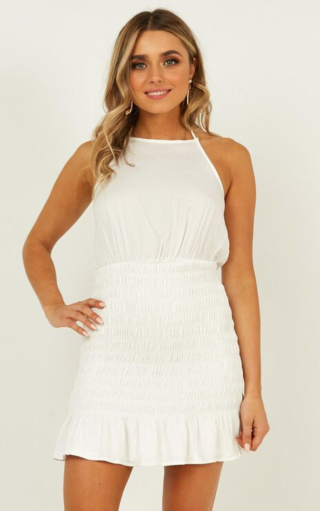 Pearl River Dress In White