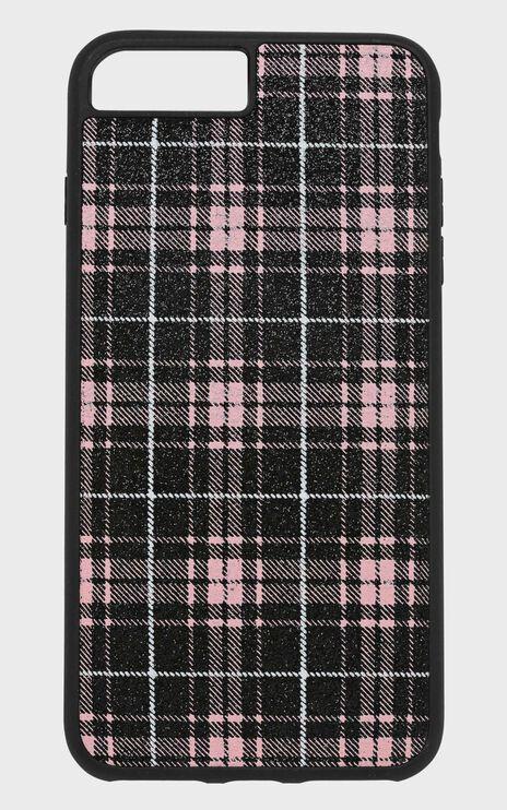 Georgia Mae - The Pink Tartan Iphone Case