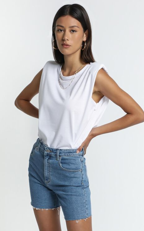 Benson Tank in White