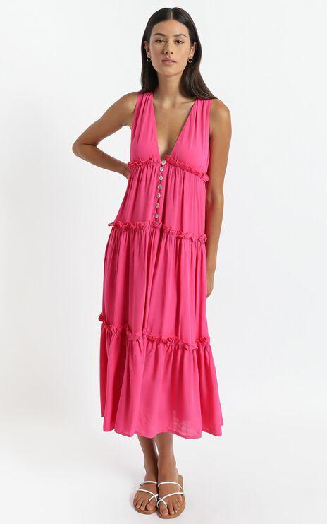Arlana Dress in Pink