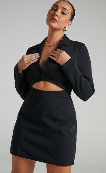 Aviva Dress in Black
