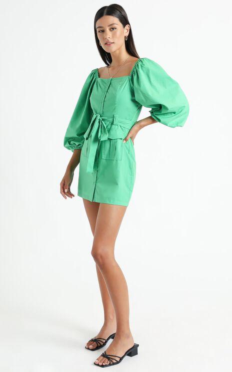 Lahaina Dress in Green