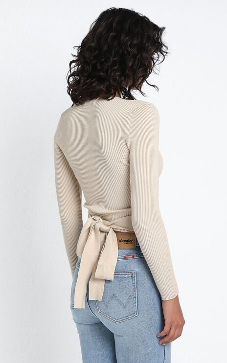 Jamia Knit Top in Cream