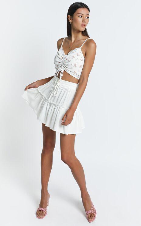 Alaina Skirt in White
