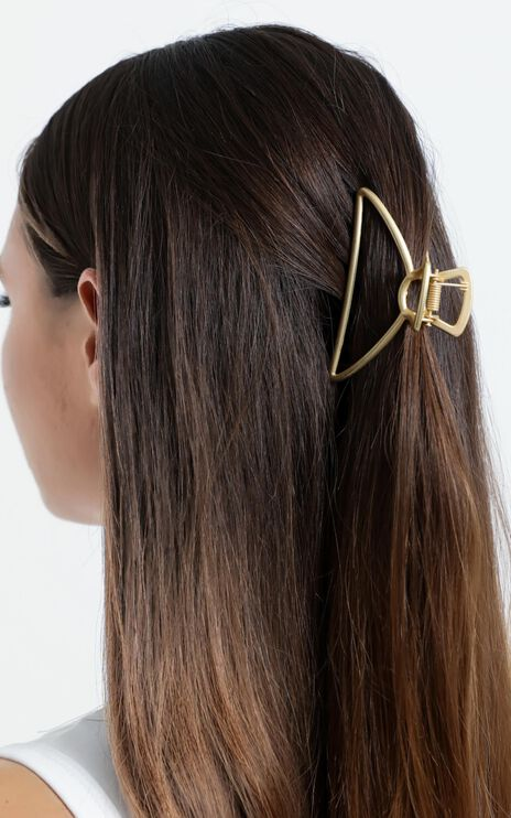 Summer Day Hair Clip in Gold
