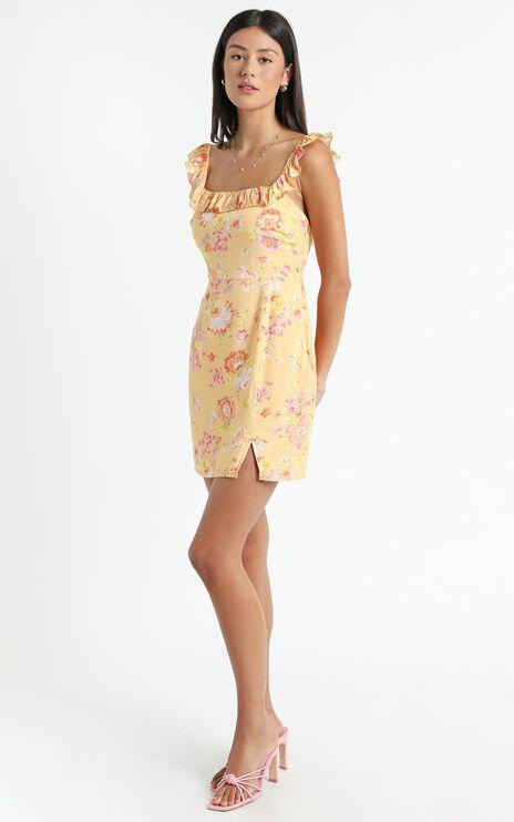 Alita Dress in Tuscan Spring