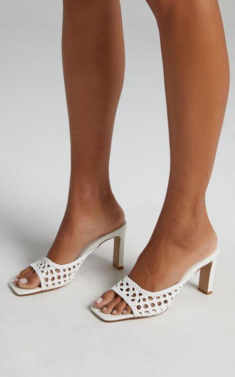 Billini - Olsen Heels in White