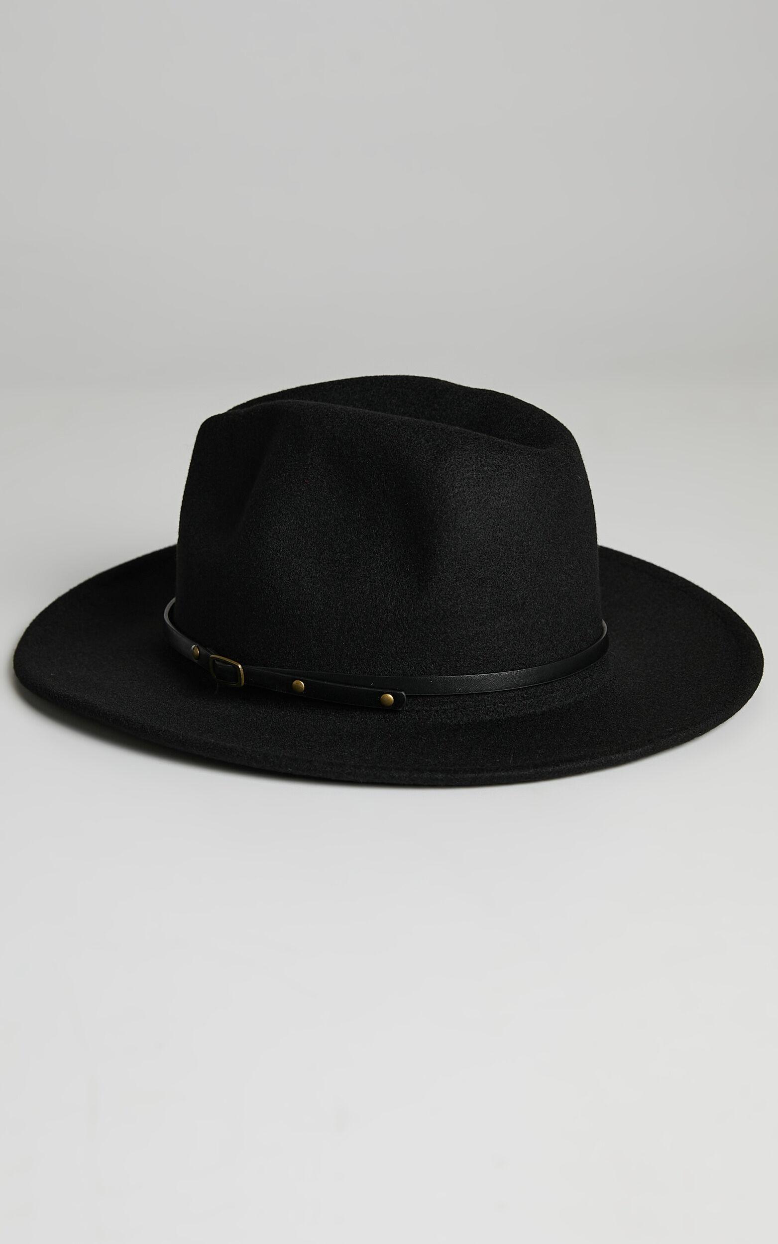 No Brainer Hat in Black, BLK1, super-hi-res image number null