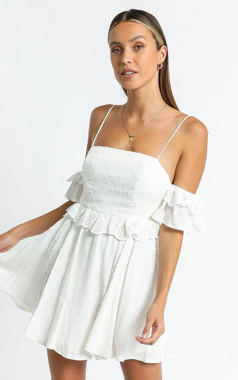 Ziggy Dress in White