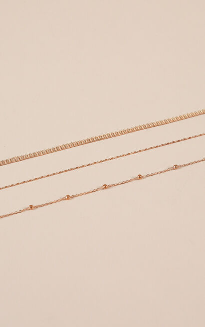 Cross My Mind necklace in gold, , hi-res image number null