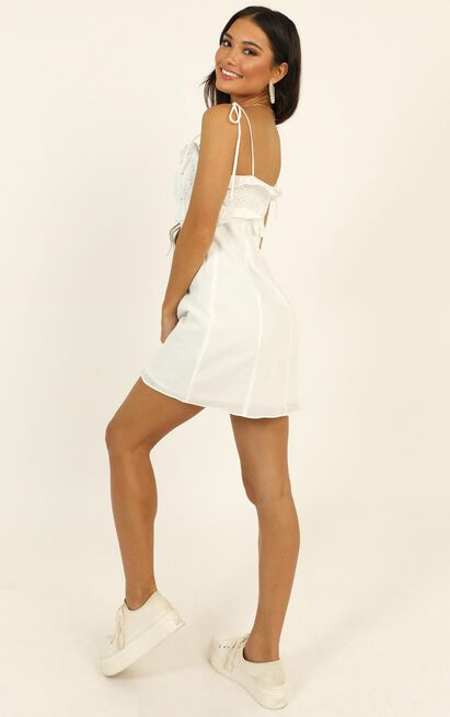 Looking Closely dress in white - 12 (L), White, hi-res image number null