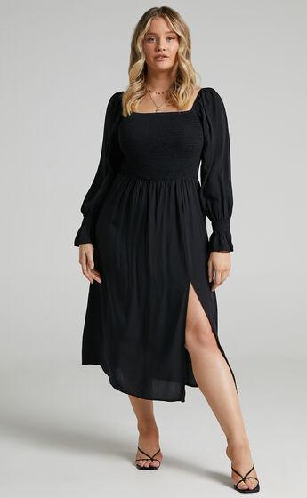 Pallas Dress in Black