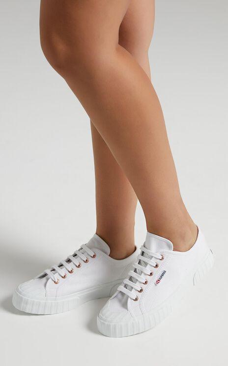 Superga - 2630 Cotu Sneakers in White - Rose Gold