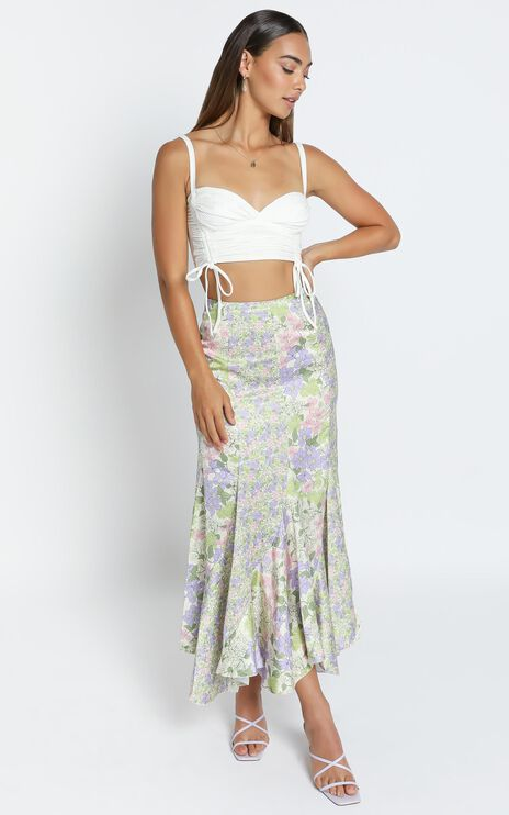 A Fool for you skirt in Garden Floral
