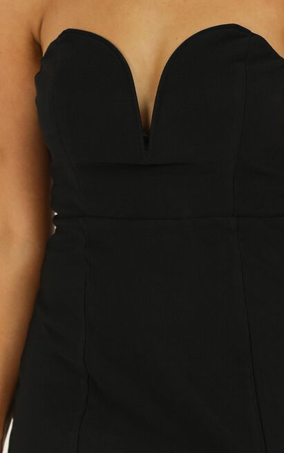 Lost Now Found Dress In black - 20 (XXXXL), Black, hi-res image number null