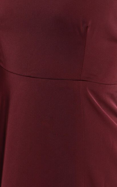Will It Be Us dress in wine - 20 (XXXXL), Wine, hi-res image number null