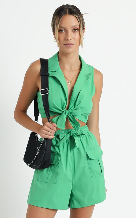 Fora Two Piece Set in Green